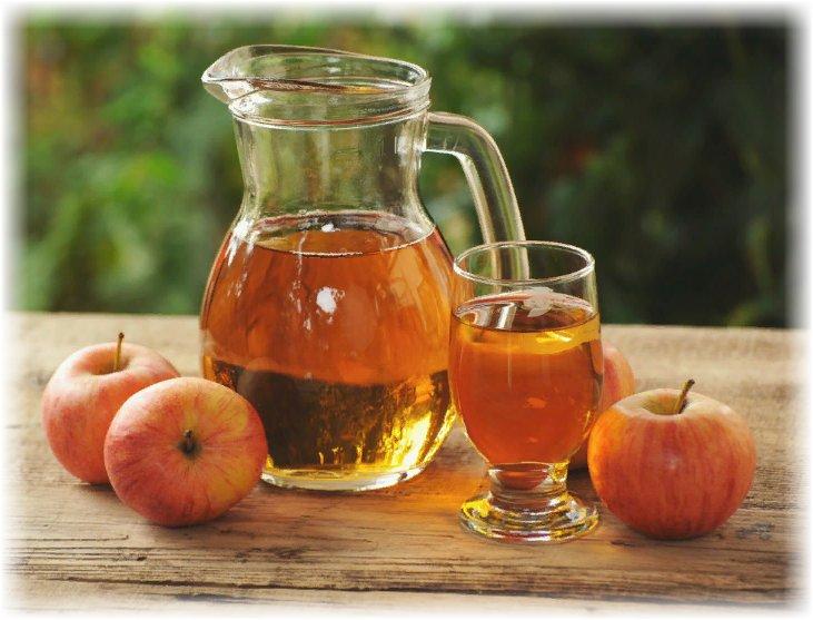 яблочный сок - пользя для организма