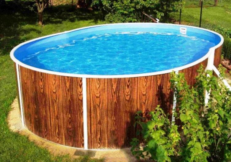 каркасный бассейн на даче как выбрать