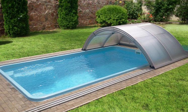 композитный бассейн для дачи