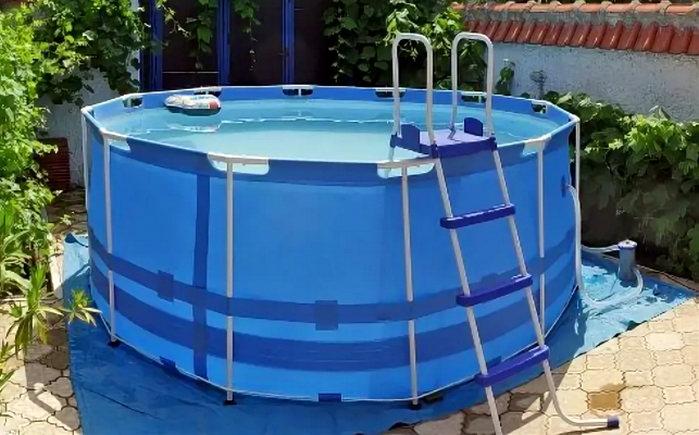выбор бассейна на даче