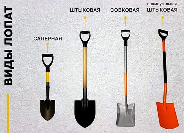 как выбрать лопату правильно
